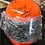 Thumbnail: Orange Helmet, signed by Legends