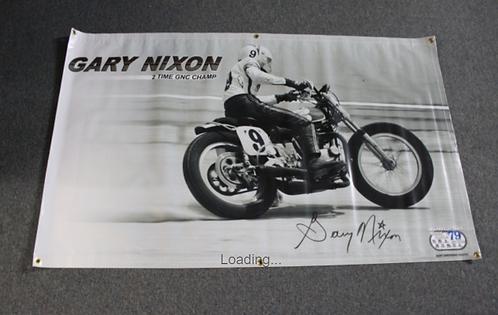 Banner 4' x 6' - Gary Nixon
