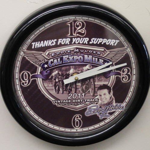 Cal Expo Mile Wall Clock