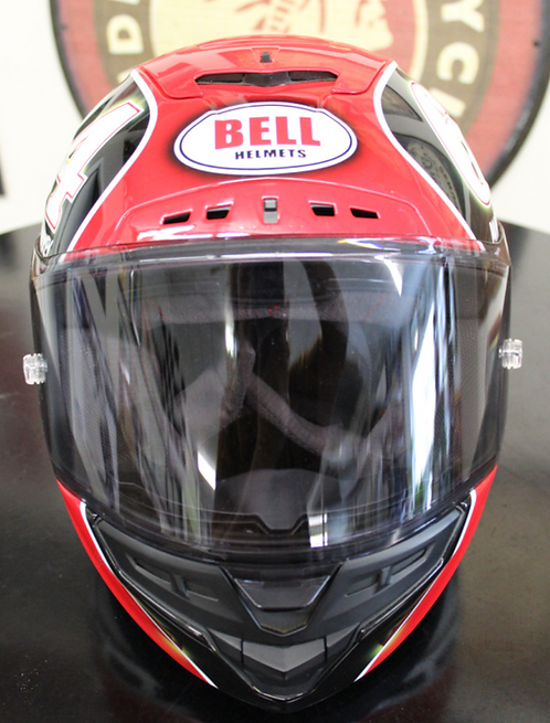 Bell Helmet, Paint by Smokey #64 Charlie Roberts, Replica