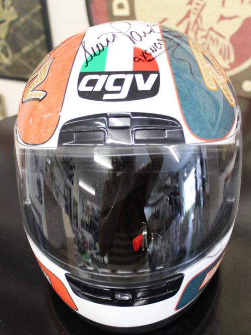 AGV Helmet, Scott Parker replica, signed