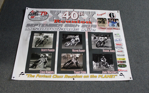 Banner 3' x 3' - RO79 40th Anniversary