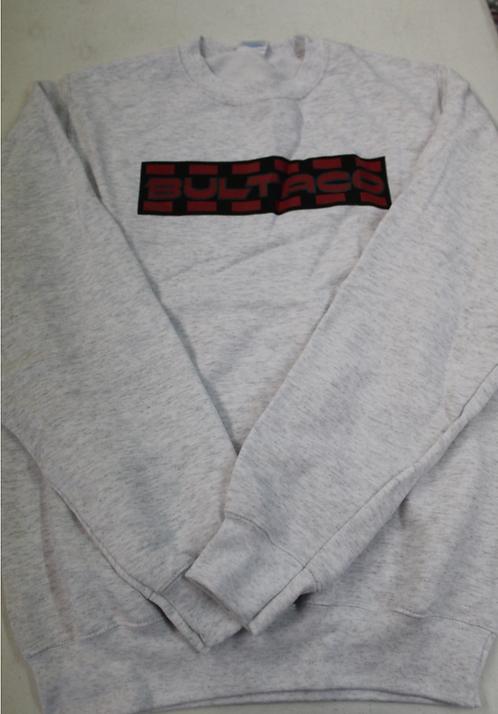 Bultaco Sweatshirt (White w/black letters)
