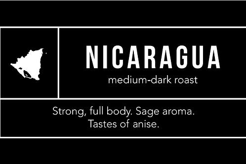Nicaragua: Medium-Dark Roast