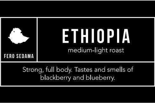 Ethiopia: Medium-Light Roast