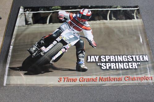 "Banner 4' x 6' - Jay Springsteen ""Springer"""