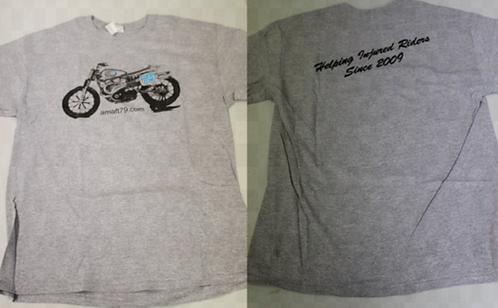 AMAFT79.COM XR750 T-Shirt (Gray)