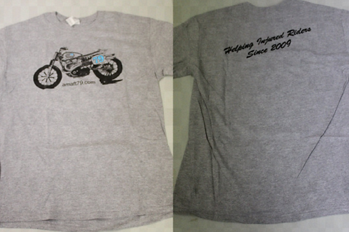 AMAFT79.COM XR750 T-Shirt (Gray)
