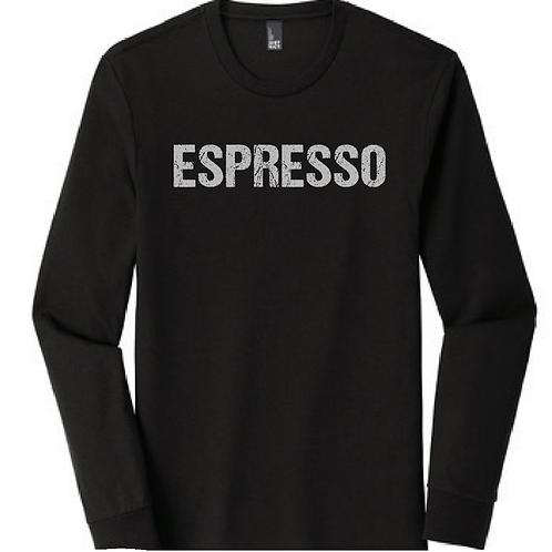 FIX Unisex Espresso Long Sleeve T-Shirt