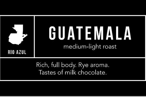 Guatemala: Medium-Light Roast