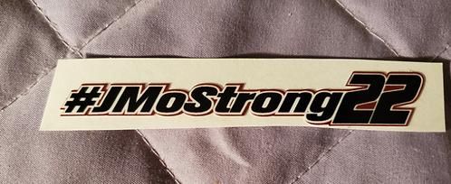 """#JMOSTRONG sticker - 4.00"""" X 0.50"""""""