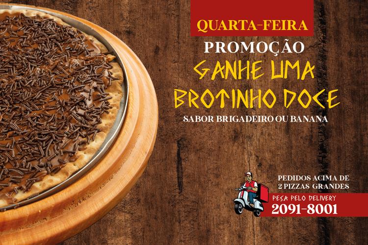 BROTINHO GRÁTIS