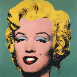 Andy Warhol - Turquoise Marilyn