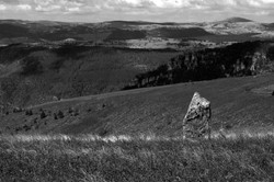 The Menhir Looking Over The Valley