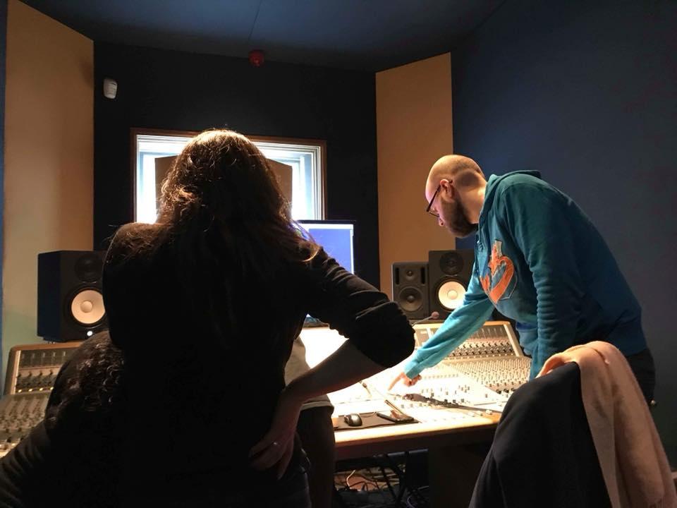 Sound Crew at work