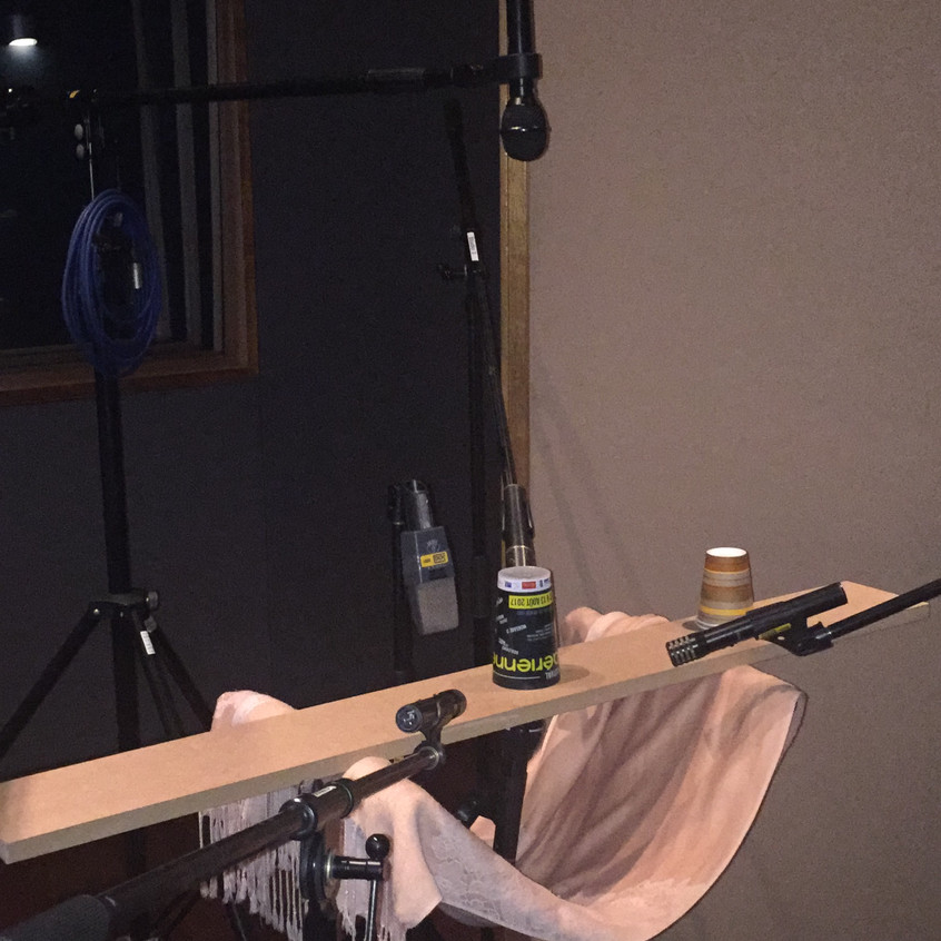 Cup Song Recording