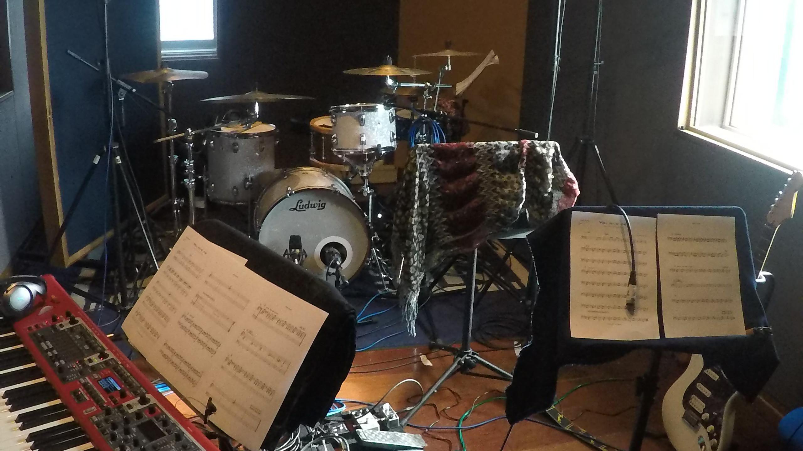 Drums, Bass, Guitar, Keys