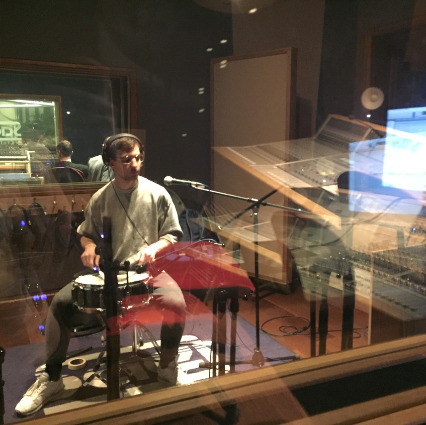 Snare recording