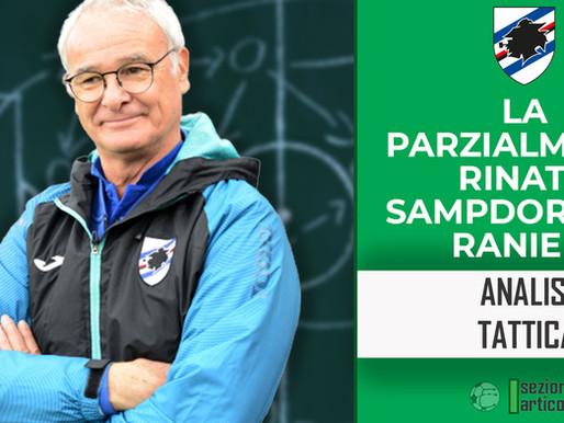 La parzialmente rinata Sampdoria di Ranieri