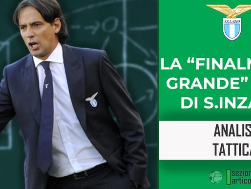 """La """"finalmente grande"""" Lazio di Simone Inzaghi"""
