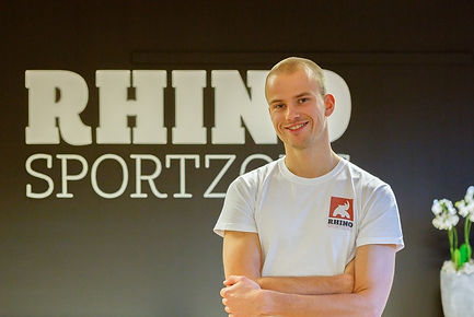 Melvin Keppel van RHINO-sportzorg