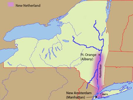 Dutch colonies in North America