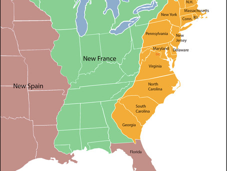 Origin of the Thirteen Colonies