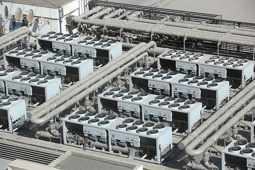 HVAC systems rooftop - industrial air co