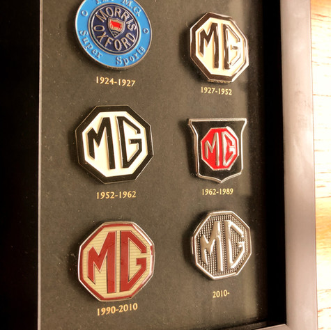 The MG Car Company - A Sign of their Times!