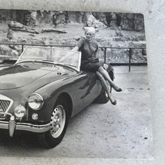 1958 Paris Motor Show - Catherine Candida Starlet