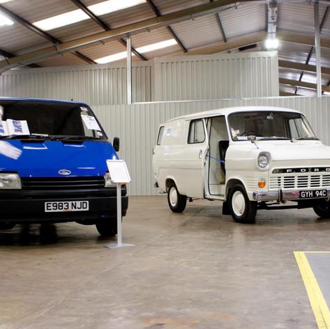 My Mk3 Spy Van next to the earliest known surviving Mk1