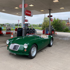 First pit stop post Midland Classic Restorations Ombersley
