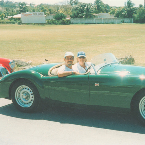 Rob and Bonnie Davis - Holetown Carnival, Barbados, 2001 MG88