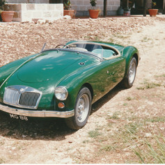 MGA Twin Cam Chassis Number YD1/2497