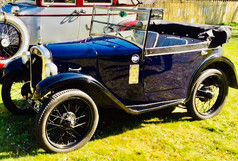 """Geoffrey"" Lee Robertson's 1930 Austin 7 Boat Tail"