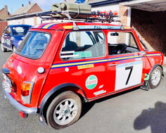"""Paddy"" - John Eden's Rally Ready Mini!"