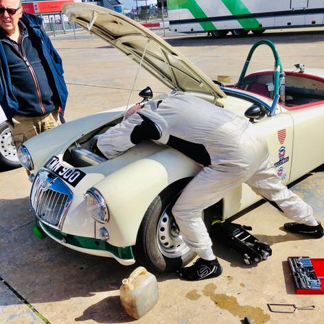 TWN 900 - ex Fitzwilliam MGA Twin Cam racer
