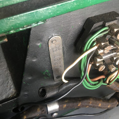 New wiring feed for Lucas Twin Horns