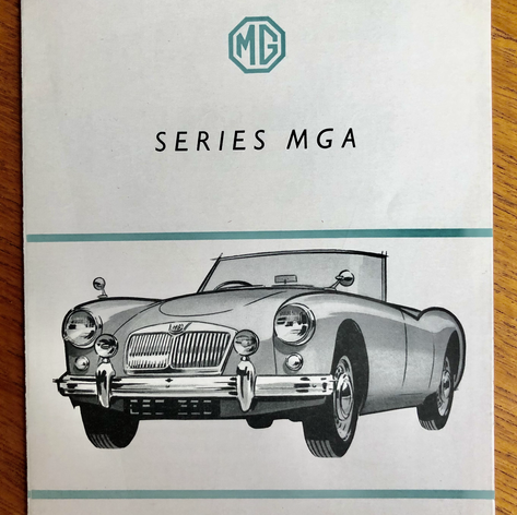 MGA Nuffield Dealer Accessory Brochure