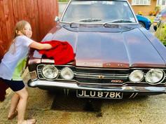 """Suzie"" - John Eden's 1973 Ford Cortina GXL"
