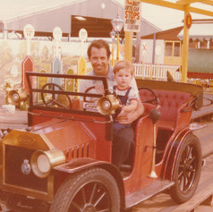 Rob and James - Colchester Zoo, Ticket to Ride! c1975
