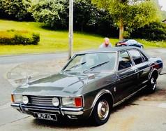 """""""Ruby"""" - John Eden's family owned Ford Granada"""