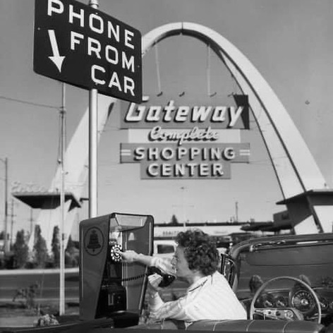 Period US Shot - Car Phone!