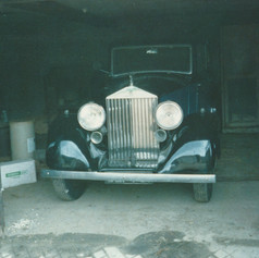 DLF731 - Rob's co-owned Rolls Royce 20/25 Park Ward Saloon - Early 1973 Essex