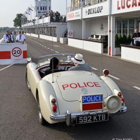 MGA - Police Patrol Car