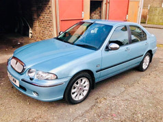 """""""Erika"""" - John Russell's 2000 Rover 45 Classic, 19k from new!"""