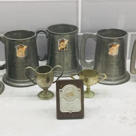 MGA Twin Cam - MG Car Club Race Trophy Haul