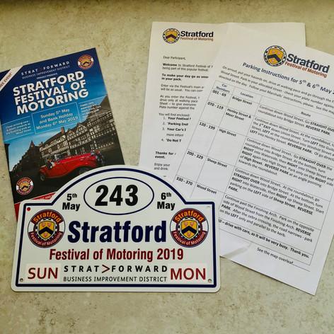 #Stratford Festival of Motoring