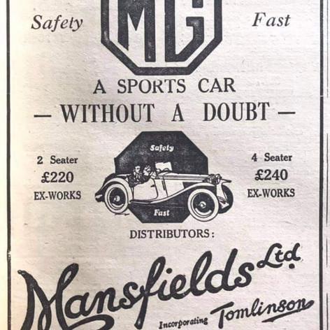 Mansfields MG Dealer Hove