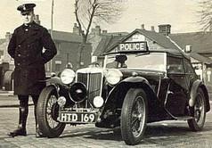 MG TC - Lancashire Constabulary